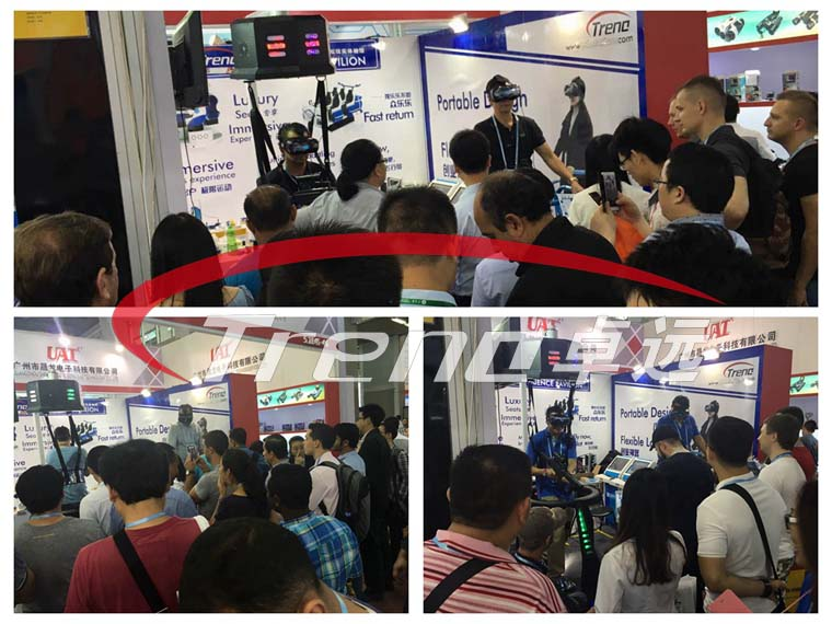 Vibrating VR and VR Walker are the most popular products in Canton Fair (3)