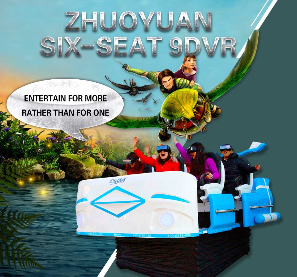 Xindy Virtual Reality Cinema Six-seat 9D VR Simulator (4)