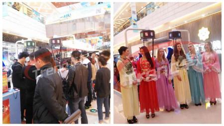Global hottest vr walker was popular in Canadian Shopping Center