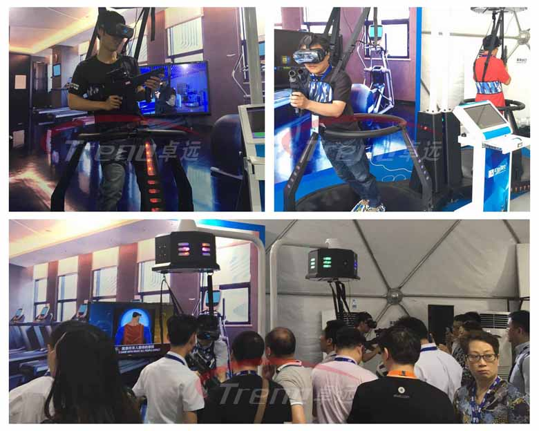 Xindy showed the most compelling vr equipments in Summit (1)