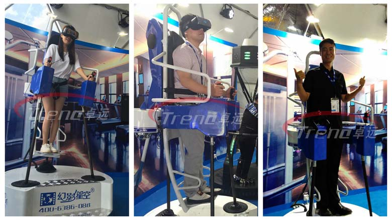 Xindy showed the most compelling vr equipments in Summit (2)