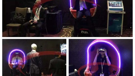 Xindy vr cinema was popular with financial magnates