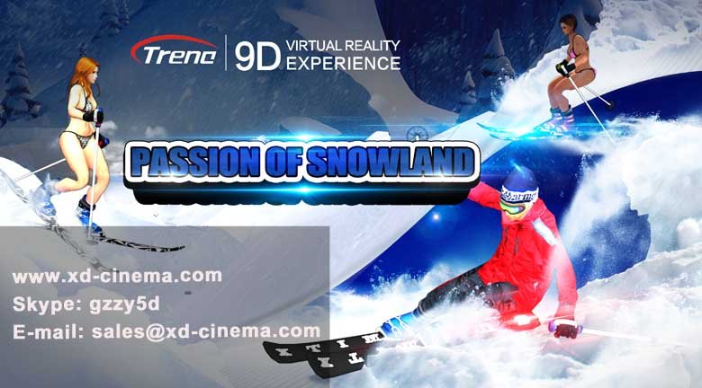 Passion of Snowland 9d vr films