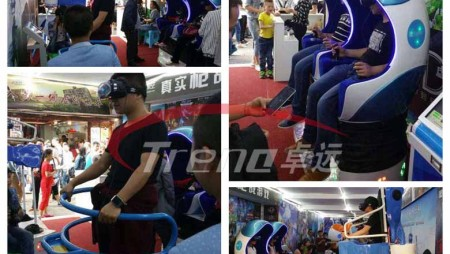 Xindy high profitable vr simulator experience pavilion in Taiwan