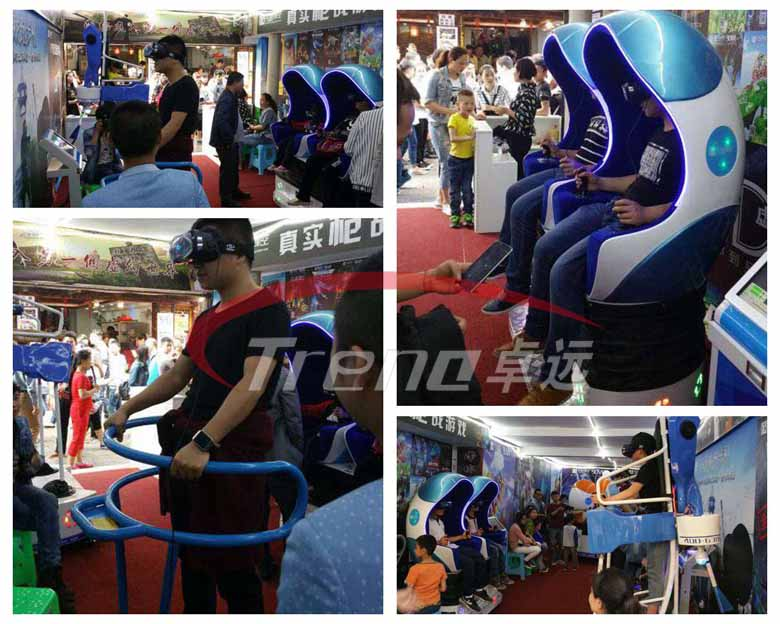 Xindy high profitable vr simulator experience pavilion in Taiwan (1)