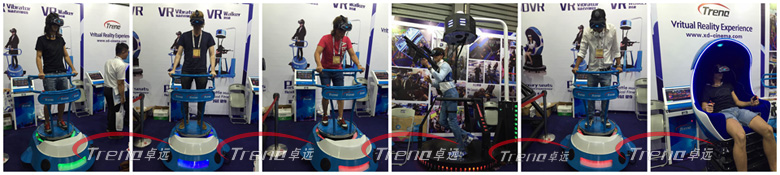 Xindy virtual reality products are popular in AEE 2016 (1)