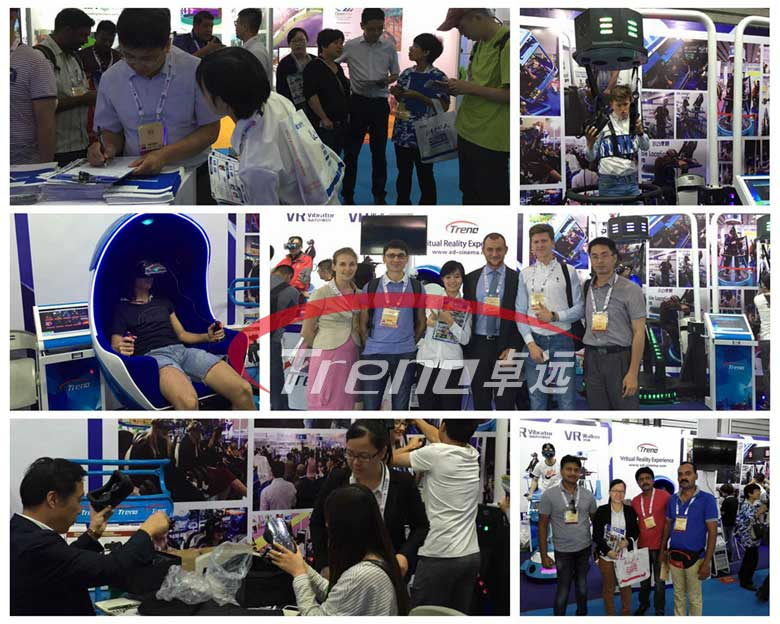 Xindy virtual reality products are popular in AEE 2016 (2)