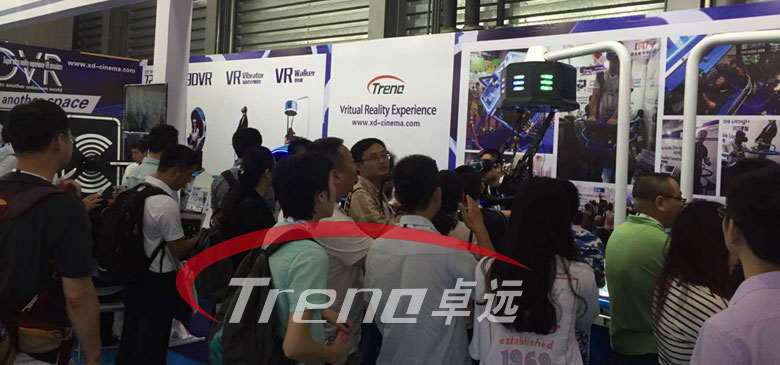 Xindy virtual reality products are popular in AEE 2016 (3)