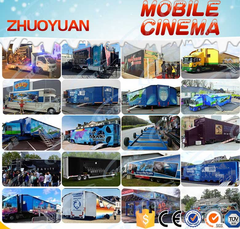 Travelling and making money by driving the truck mobile cinema (1)