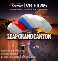 Leap Grand Canyon VR Film