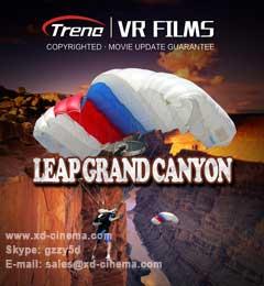 Leap Grand Canyon VR Film