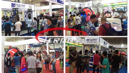 Virtual reality simulator winning fans at Canton Fair