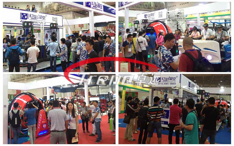 Virtual reality simulator winning fans at Canton Fair (1)