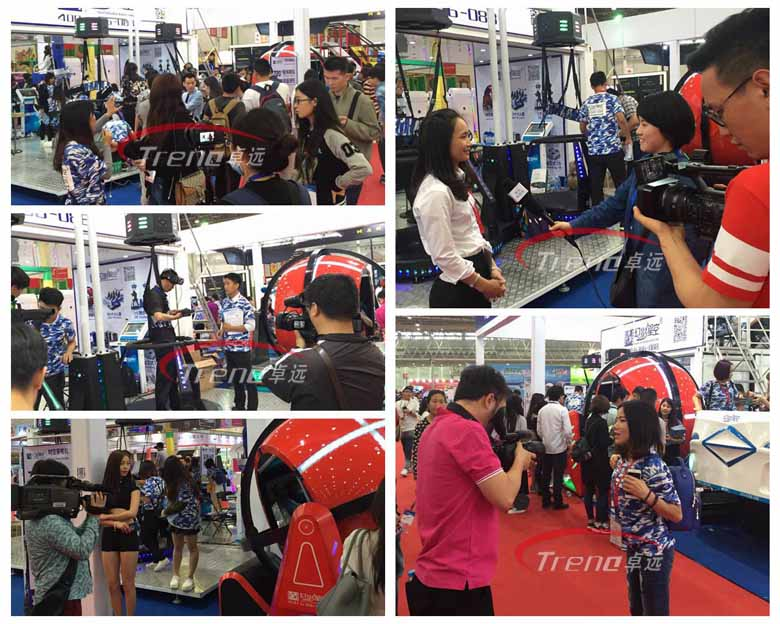 Virtual reality simulator winning fans at Canton Fair (2)