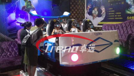 Xindy popular six-seat 9d vr simulator in KTV