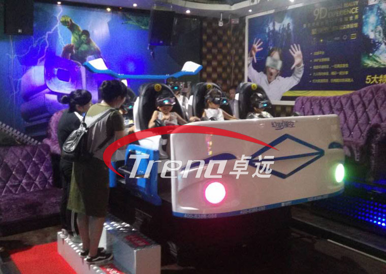 Xindy popular six-seat 9d vr simulator in KTV (2)
