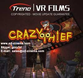 Crazy Thief 9d vr films