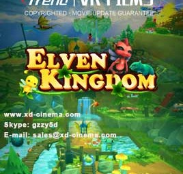 Elven kingdom virtual reality movie