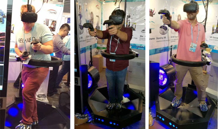 Xindy vr products were winning fans in 120th Canton Fair