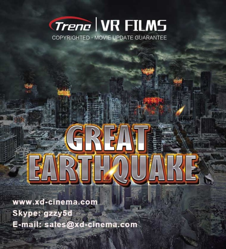 Great Earthquake a VR Movie