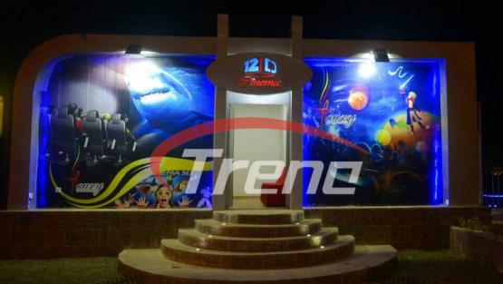 Xindy fashionable hydraulic outdoor cinema in Sudan