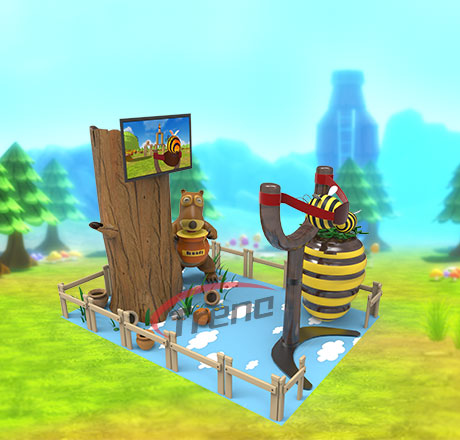 Xindy Virtual Reality Simulator VR Angry Bees Machine VR Angry Bees Simulator (5)