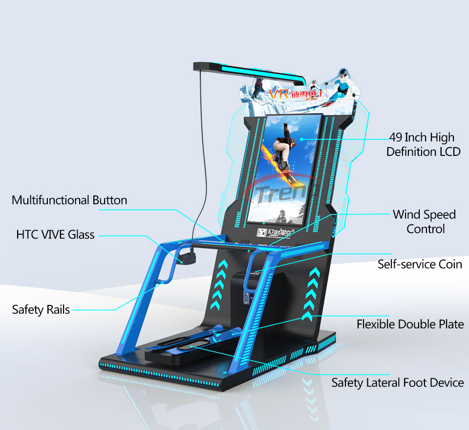 Xindy Virtual Reality Simulator VR Ski Machine (3)