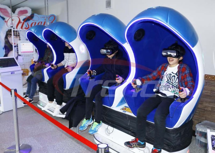 Xindy  9D  vr  bring  happiness  to Japanese children