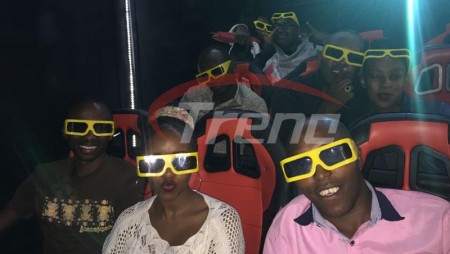Xindy 12D Cinema hydraulic 9 seats in Kenya