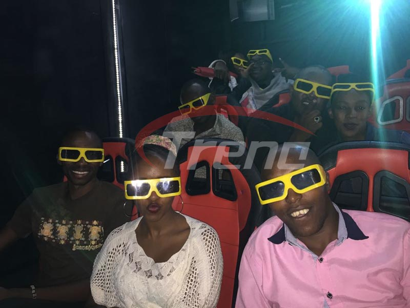 12D Cinema hydraulic 9 seats in Kenya