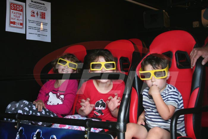 Eloise's kids in the cinema0