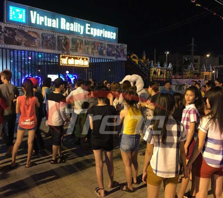 Xindy virtual reality experience in Vietnam