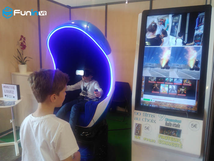 Xindy 9D VR simulator in france
