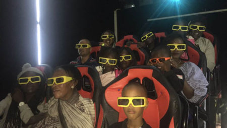 Xindy 12D Cinema in Kenya