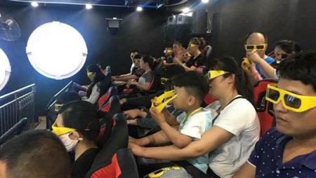 Xindy 24 seats hydraulic 12d cinema.
