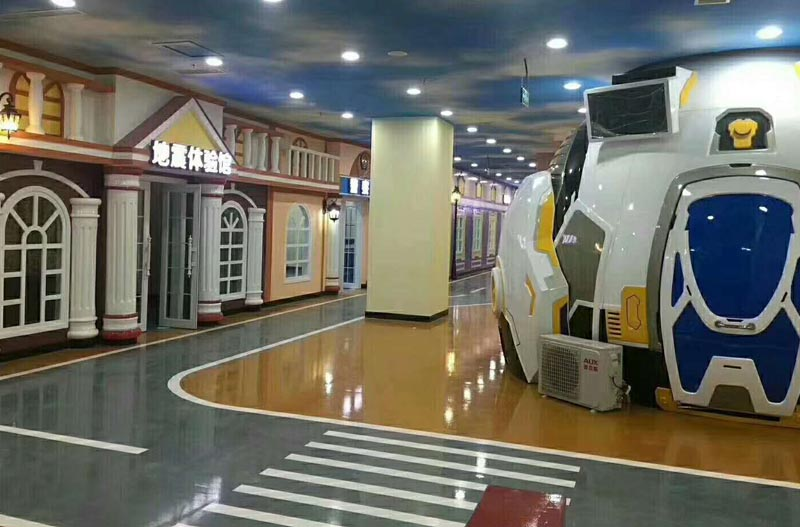 Zhuoyuan Mini Dome Cinema in Vr theme park
