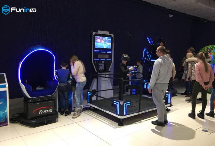 Xindy's virtual reality simulator in Ukraine