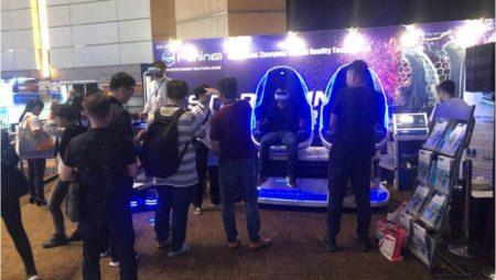 Guangzhou Zhuoyuan's Dazzling Show At HongKong Electronics Fair