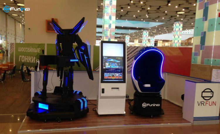 FuninVR's Star Twin Seat VR in Russia