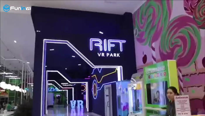 VR experience pavilion in the United Kingdom