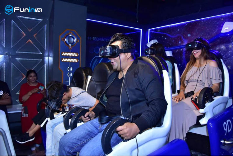 FuninVR's VR Gaming Zone in Noida, India