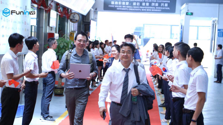 Korean delegation visits Guangzhou Zhuoyuan