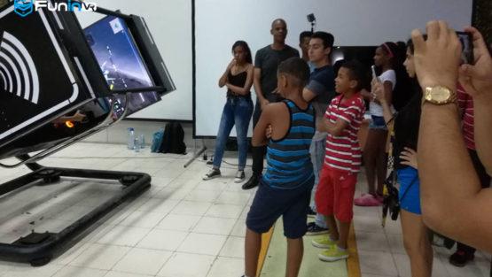 Guangzhou Zhuyuan's VR simulators in Cuba