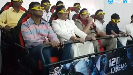 Xindy 7d interactive cinema have opened in Sri Lanka