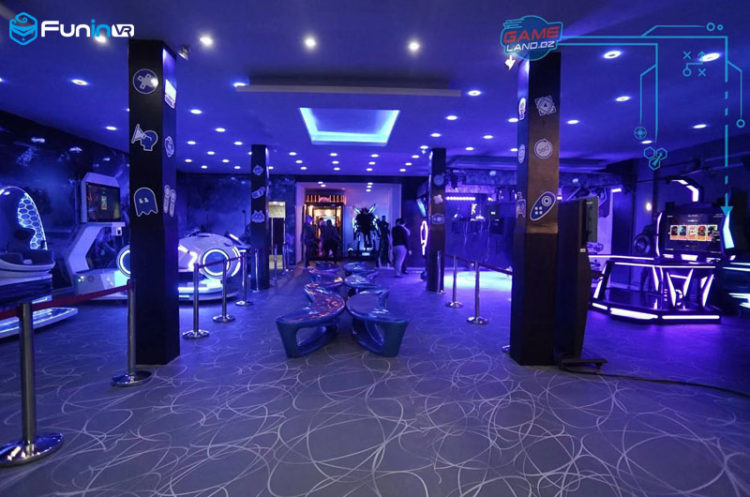 VR Theme Park experience shop in Algeria