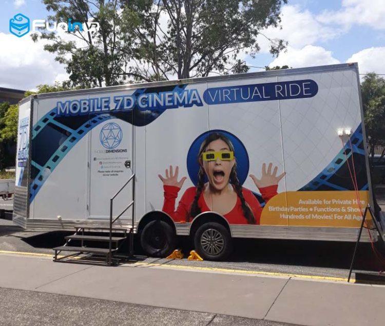 Zhuoyuan 7D mobile cinema in Ausralia