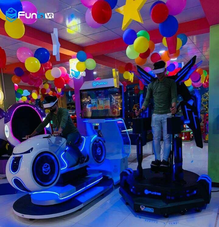 Xindy'S 9d egg vr simulator in Iraq