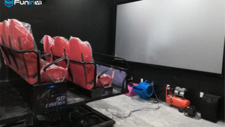 Zhuoyuan'S 5D 7D VR cinema / theater simulator in canada