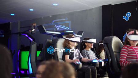 9D Virtual Reality Platform 5D/7D Cinema