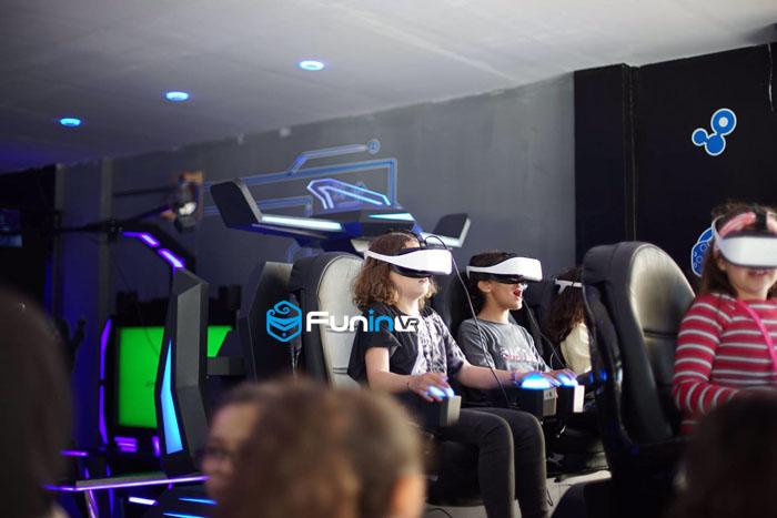 9D Virtual Reality Platform 5D/7D Cinema